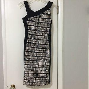 EUC Joseph Ribkoff dress - great for the holidays!